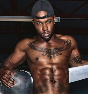 Openly gay hiphop artist Milan Christopher lost all his clothes for Paper mag's Pride issue