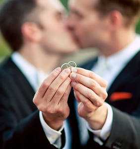 New study reveals the average age gay men get married is higher than you might think