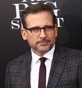 Steve Carell has gone full silver fox and people are loving it