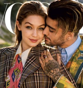 "Vogue hailed Zayn Malik and Gigi Hadid as ""gender fluid"" — and Twitter is having a field day"