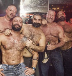PHOTOS: Big burly bears go wild in Madrid