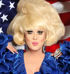 Why is Lady Bunny unhappy this 4th of July? Because Trump. That's why.