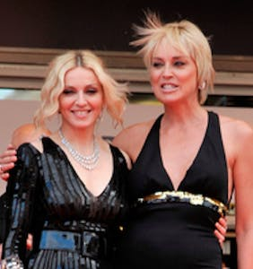 """Sharon Stone reacts to Madonna calling her """"horribly mediocre"""" with unbelievable class"""