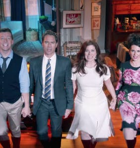 """Will & Grace"" teases the world with a brand new come-back clip"