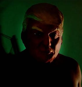 "Donald Trump is going to have a coronary when he sees the ""American Horror Story"" opening credits"