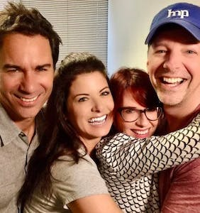 """The cast of """"Will & Grace"""" gets a little kinky"""
