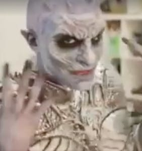 Every 'Game of Thrones' fan must see the Night King lip syncing for his life