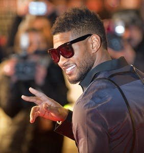 Usher is being sued for allegedly exposing a male sex partner to herpes