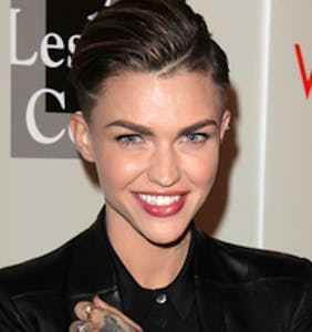"Ruby Rose called ""disgusting human being"" for donating 10K to LGBTQ center after Hurricane Harvey"