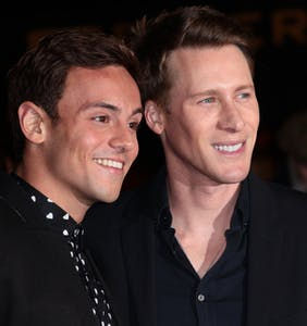 Tom Daley and Dustin Lance Black break the law on their honeymoon, share proof to Instagram