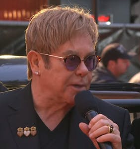 George Michael's sister slams Elton John's claim that George was uncomfortable being gay