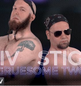 Y'all Look! It's the first world wrestling-style smackdown HIV prevention video