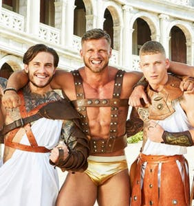 Get acquainted with the musclebound cast of new reality show 'Bromans'