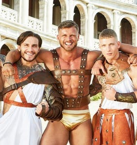 PHOTOS: The entire muscly cast of 'Bromans' lost their clothes in first five minutes of premiere