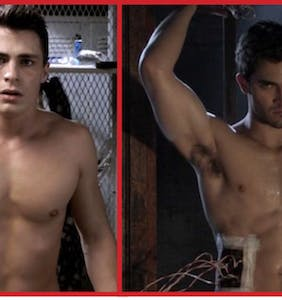 Colton Haynes and 'Teen Wolf' co-star Tyler Hoechlin have something to show you