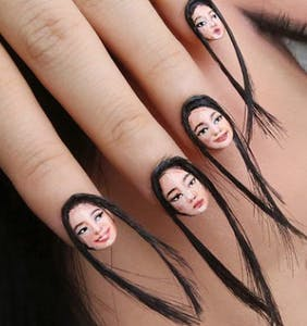 """""""Hairy selfie nails"""" are guaranteed to gag the children. Beware."""