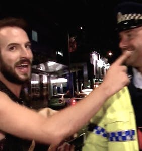 WATCH: Gay man crashes police reality show, makes incredibly poor choices