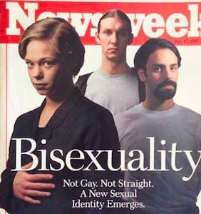 See what 'Newsweek' was writing about bisexuals back in 1995
