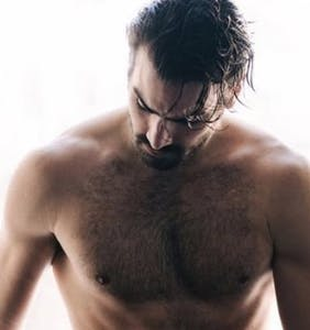 Nyle DiMarco and his perfectly fuzzy body are ready to save you from certain doom