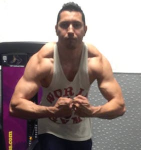 Is this hyper-jacked guy too old to be a firefighter? The FDNY says yes.