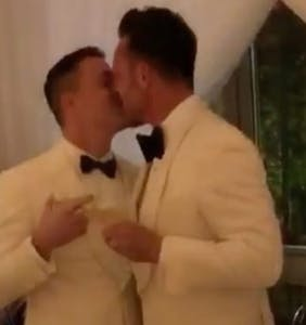 Footage of Colton Haynes' wedding pops up on Instagram
