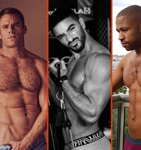 Chris Hemsworth's beach bod, Laith Ashley's guns, & Terry Miller's towel toga