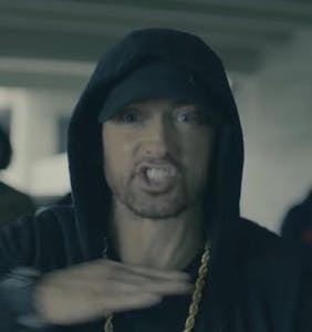 Eminem's freestyle rips into Donald Trump, turning him into a steaming pile of fleshy orange bits