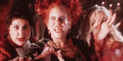 Stop everything! Bette Midler, Sarah Jessica Parker & Kathy Najimy are doing a 'Hocus Pocus' reunion