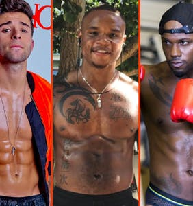 Terry Miller's Folsom wear, Idris Elba's chest, & Nico Tortorella's cold shower