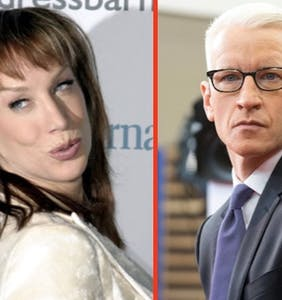 You won't believe what Kathy Griffin just called Anderson Cooper