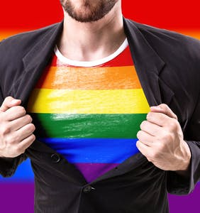 """45 percent of LGBTQs say they are not """"comfortable"""" holding hands with partner in public"""