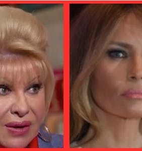 """Melania is very angry at Ivana Trump for calling herself """"The First Lady"""""""