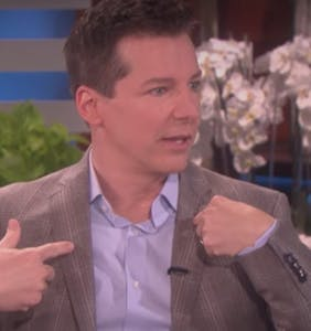 Sean Hayes reveals recent life-threatening health scare
