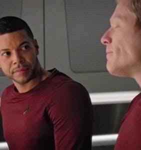 "Gay love got exceedinglyy real on ""Star Trek: Discovery"" this weekend"