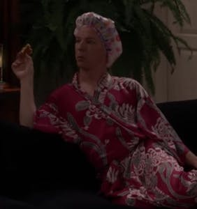 "Jack demonstrates ""The Pajama Party Position"" in brand-new 'Will & Grace' clip"