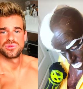 This gay Instagrammer loves Trump and wore blackface for Halloween, insists he's not racist