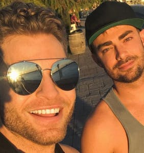 Mean Girls' Jonathan Bennett is out — and his boyfriend is thirst made flesh