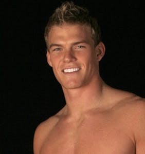 "Before his ""Hunger Games"" break, Alan Ritchson was an underwear model. Here's the proof."