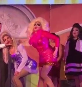 "You'll rewatch Trixie Mattel and Katya's ""Romy and Michele"" interpretative dance… time after time"