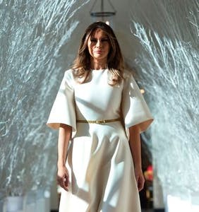 Melania's White House Christmas hellscape immortalized in hilarious memes
