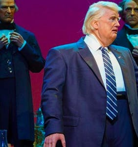 Trump was added to Disney's 'Hall of Presidents' and the Internet's response is priceless