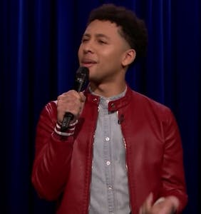Queer comic slayed 'Tonight Show' debut talking about 'masc' guys and hitting on Uber drivers