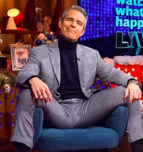 "Andy Cohen accused of being ""elitist"" for describing himself as a ""gold star gay"""