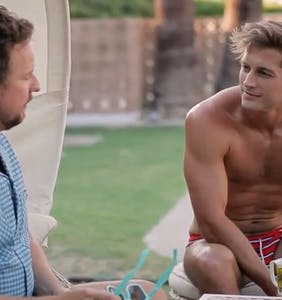 WATCH: Max Emerson has to bare it all if he wants to hang in this exclusive 'EastSiders' clip