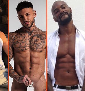Ricky Martin's barely-there beachwear, Wilson Cruz's nips, & Max Emerson's grand slam