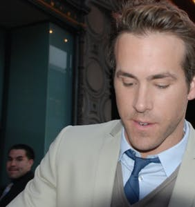 "Ryan Reynolds gifts fans a ""well hung"" look at his latest project"