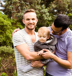 Study: Gay couples are vastly happier than heterosexual couples. So there.
