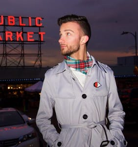Meet Deonta Bebber, showing off his Seattle style at Pike Place Market