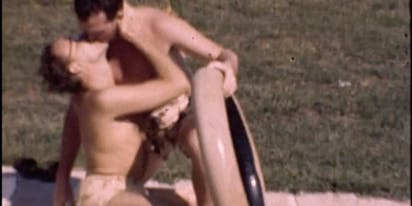 Footage of a gay pool party in 1945 has surfaced online and it's pretty incredible
