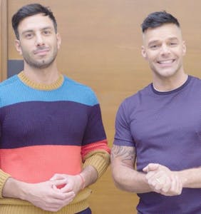 Ricky Martin and Jwan Yosef show us where the magic happens